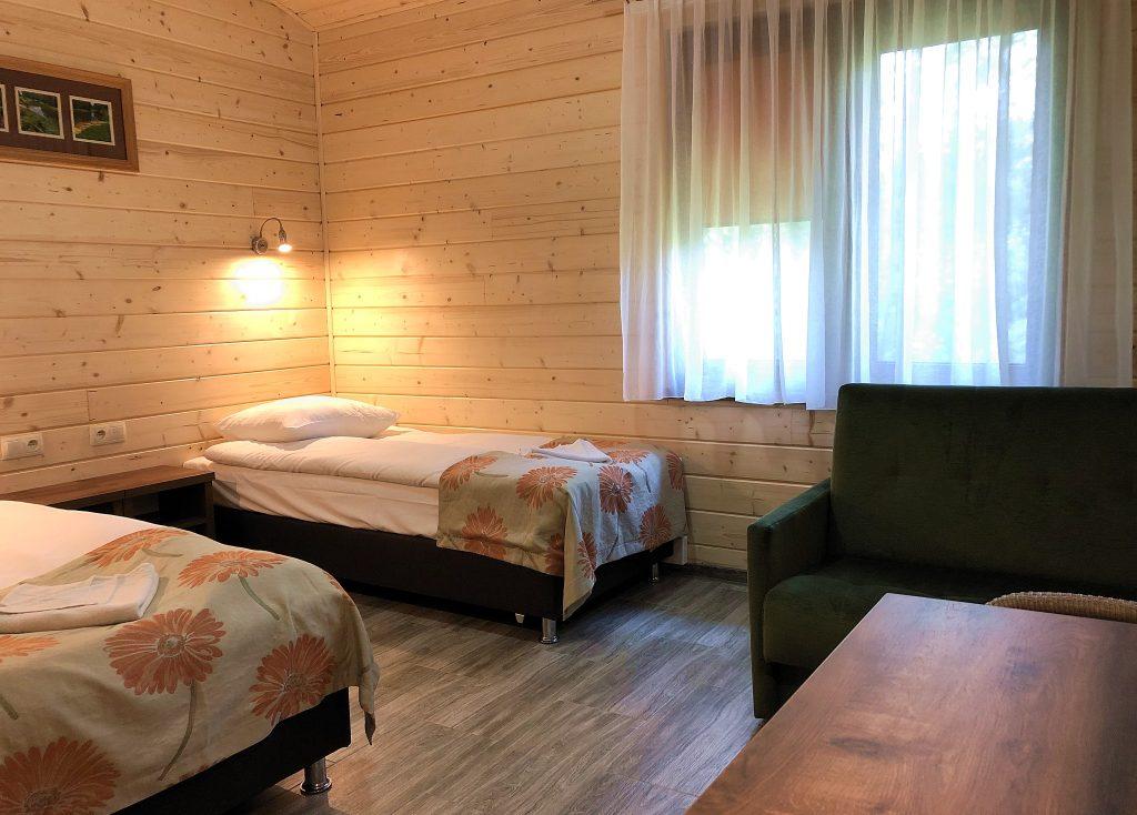 Noclegi bungalow Villa Skomanda w Augustowie