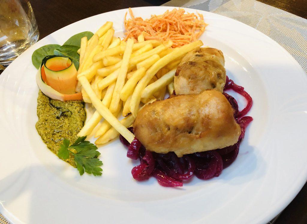 Restauracja Villa Skomanda w Augustowie menu