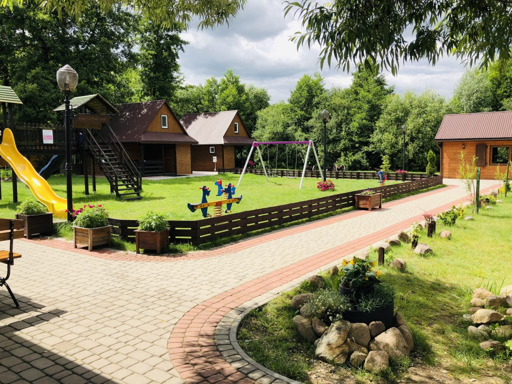Villa Skomanda - plac zabaw