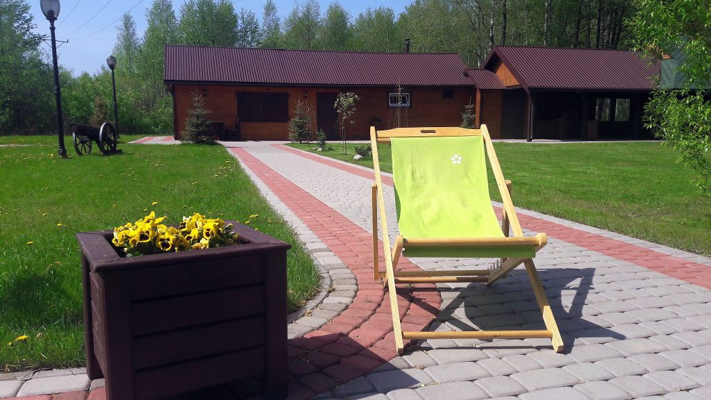 Nocleg bungalow domek letniskowy Villa Skomanda w Augustowie