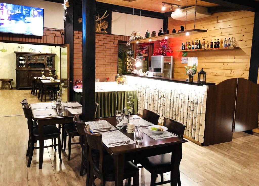 Restauracja Villa Skomanda w Augustowie
