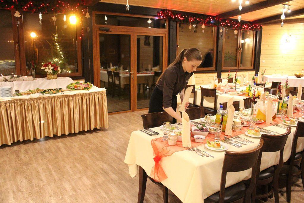Uroczyste kolacje, bankiety w Villi Skomanda