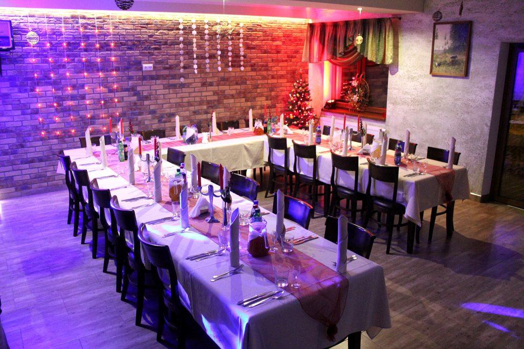 Villa Skomanda w Augustowie restauracja przyjęcia rodzinne