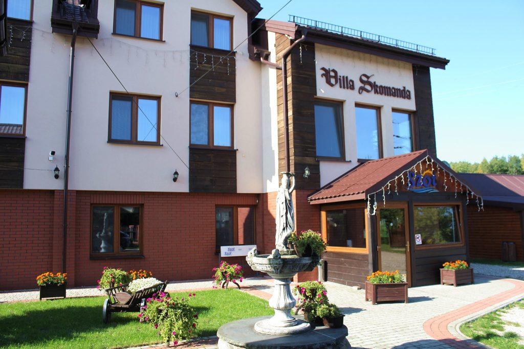 Hotel Villa Skomanda w Augustowie