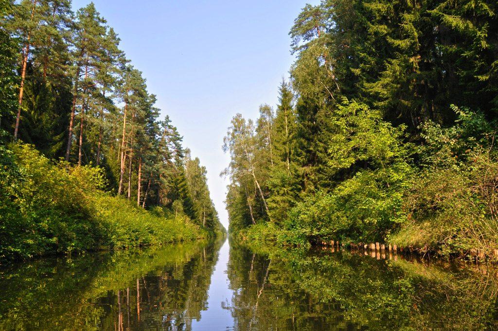 Kanał Augustowski Villa Skomanda w Augustowie