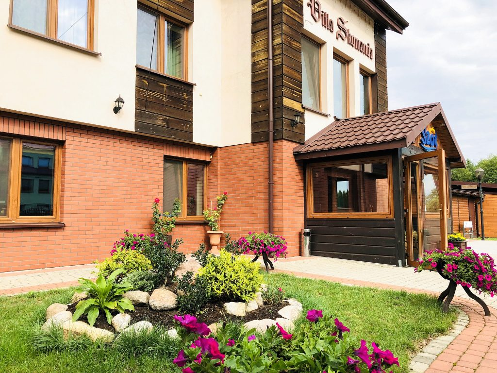 Villa Skomanda hotel w Augustowie nad jeziorami