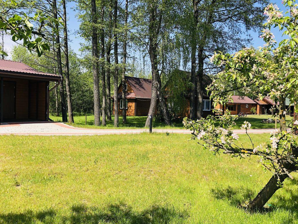 Domek letniskowy Villa Skomanda w Augustowie nad jeziorem