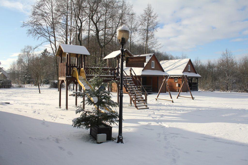 Zimowy wypoczynek Villa Skomanda w Augustowie